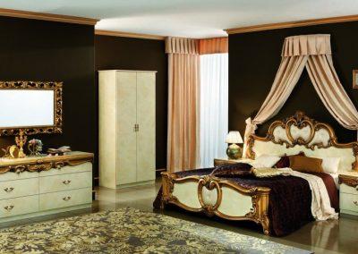 Barocco fehérarany hálószoba