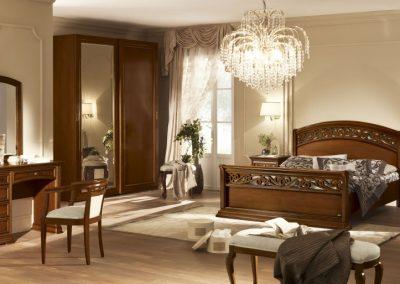 Torriani diószínű ágy