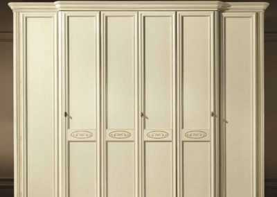Siena Arena csontszínű 6 ajtós szekrény