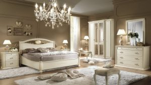 Siena elefántcsont színű hálószoba