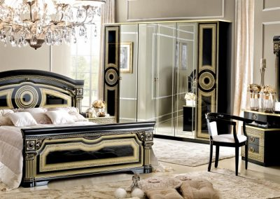 Aida fekete-arany 6 ajtós háló