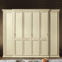 Arena csontszínű 6 ajtós szekrény