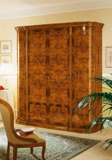 Milady 4 ajtós szekrény