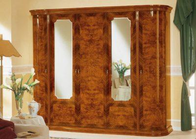 Milady 6 ajtós szekrény