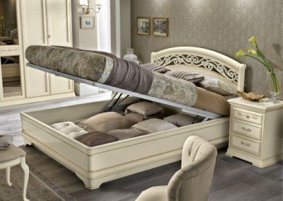 Torriani ágyneműtartós ágy