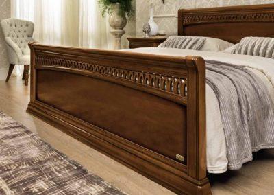 Torriani  faragott dió ágy