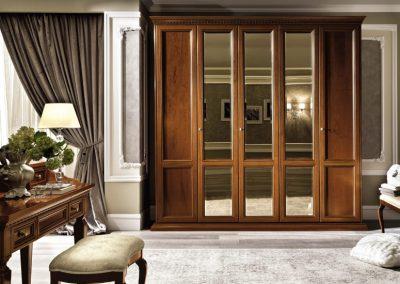 Trevizó cseresznye 5 ajtós szekrény