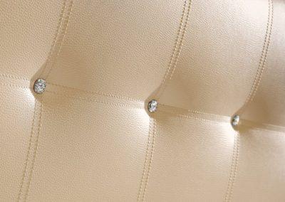 Mátrix dupla varrásos swarovski díszítéses fejvég