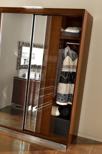 Mátrix tükrös szekrény
