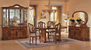 Milady olasz magasfényű étkező bútor