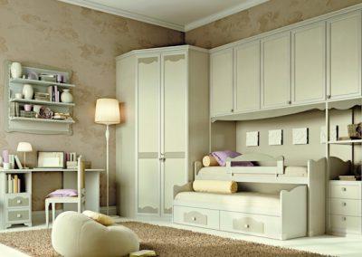 Beverly (fehér-szürke) hálószoba