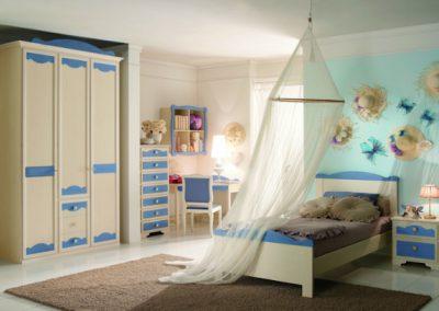 Beverlyi Acquamarina hálószoba