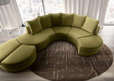 New york modern ülőgarnitúra 19 kompozíció