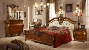 Medea hálószoba dió fésülködő szekrénnyel
