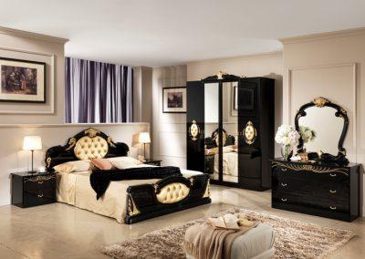 Michelle fekete-arany 4 ajtós háló