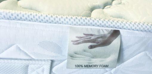 Stretch huzat memory matrac