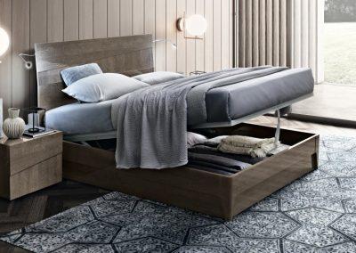 Tekno ágyneműtartós ágy