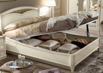 Fregio ágy Giotto hálószobához