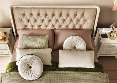 Giotto antik fehér ágy fejvége