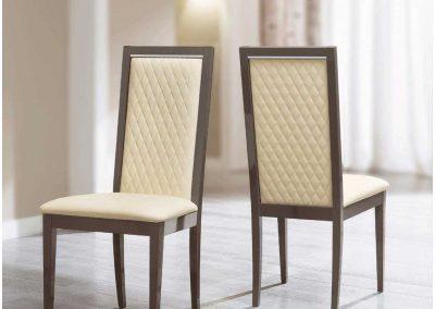 Platinium szék rombusz steppeléssel