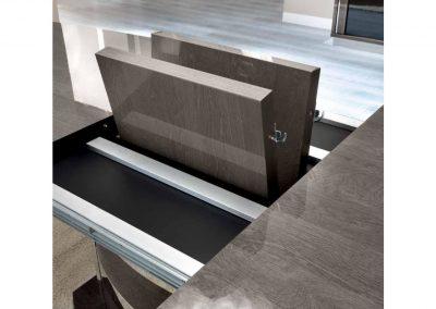 Roma platinium hosszabbítható asztal